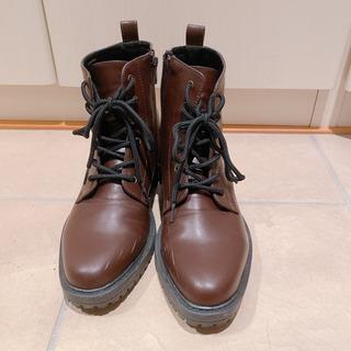 GU マーチン風ブーツ Mサイズ