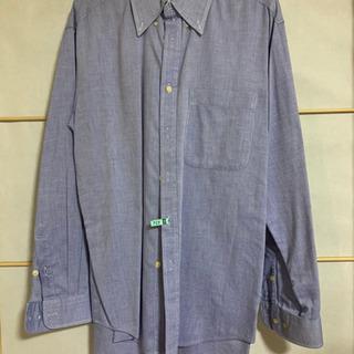 メンズシャツ(ブルー)
