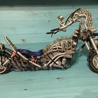 ハンドメイドチョッパーバイク