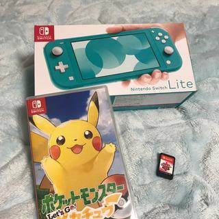 値下げしました⭐︎任天堂SwitchLite+Let's goピ...