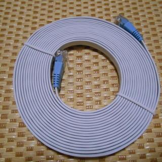 LANケーブル4.5m フラットケーブル