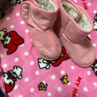 ④ブーツ ピンク 16.0
