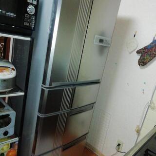 冷蔵庫 三菱5ドア両開き