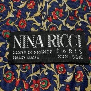 ニナ リッチ / NINA RICCIの華柄ネクタイ 値下げしました!