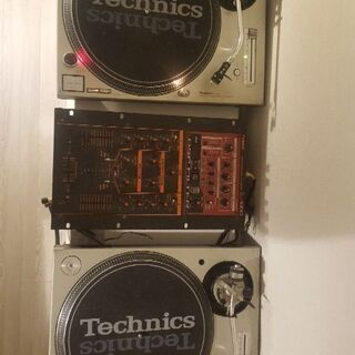 テクニクスSL1200-MK3D×2台とアンプpioneer a...