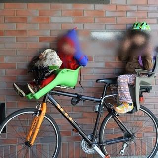 ◆子ども乗せ・クロスバイク・3人乗り◆