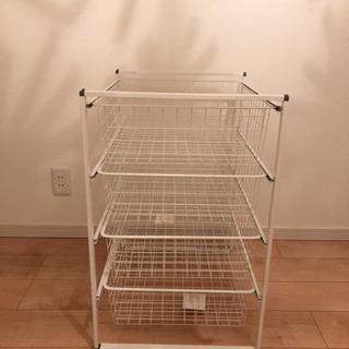 IKEA ANTONIUS フレーム/ワイヤーバスケット