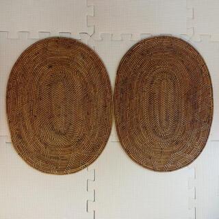 バリ民芸品 ランチョンマット2枚セット