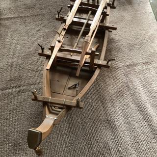 船の模型 木製