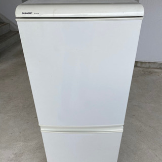 シャープ 冷蔵庫 SJ-614-W 2007年製 135L 動作品
