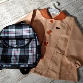 奥州市ひがし幼稚園の制服とリュック