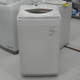 2018年製 東芝 全自動洗濯機 5kg AW-5G6 TOSH...