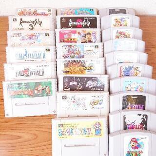 1個43円計算 ソフト23個 まとめ売り 任天堂 スーパーファミ...