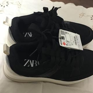 スニーカー ZARA 24cm 新品