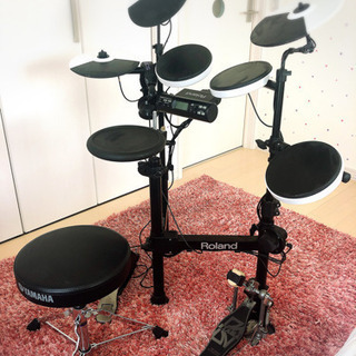 値下げ中 Roland 電子ドラム V-Drums Portab...