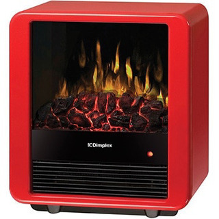 電気暖炉 ファンヒーター内蔵 MiniCube レッド MNC12RJ