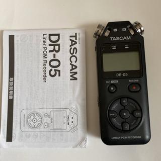 TASCAM DR-05 LCレコーダー