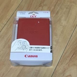Canon キヤノン ixy1 ixy3用本革ケース コンデジ