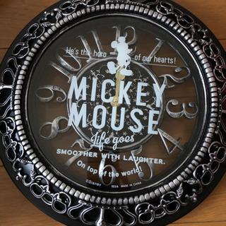 新品Mickey Mouseアンティーク壁掛け時計  最終値下げ...