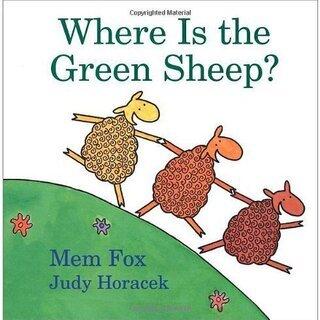 英語絵本「Where Is the Green Sheep?」