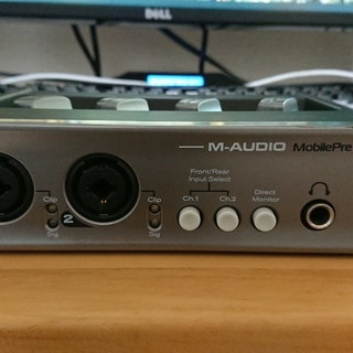【売ります】M-AUDIO MobilePre