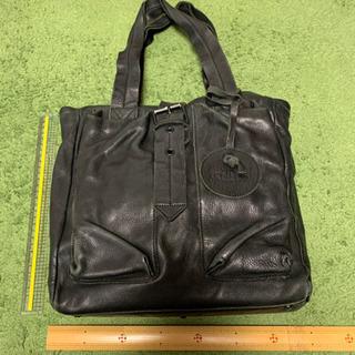 ヴィヴィアンウエストウッド 革トートバッグ 黒色