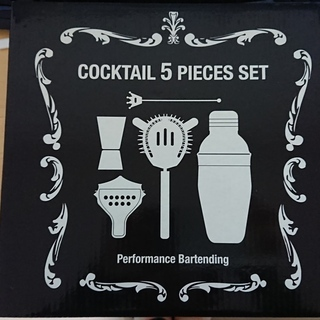 【売ります】cocktail 5 pieces set