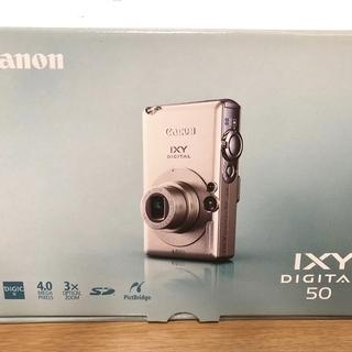 Canon IXY DIGITAL 50   4メガピクセル 3...