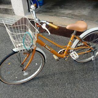 女の子用 22インチの自転車