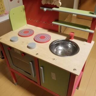 木製キッチン♪※難あり