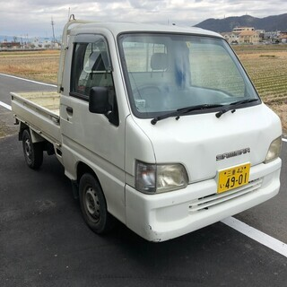 総額7.8万円平成14年式 スバル サンバー TB(TT1) T...