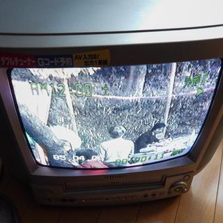 アイワ ビデオ一体型テレビ  VX-T14GX30B2 - 小山市