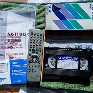 アイワ ビデオ一体型テレビ  VX-T14GX30B2 - 売ります・あげます