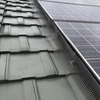 鳩対策します ソーラーパネル、ベランダ - 知多市