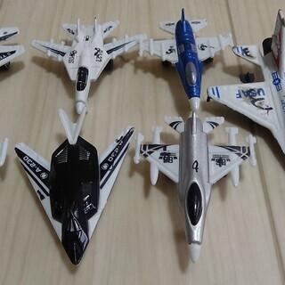 飛行機 ミニカー 中古7台
