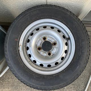 古タイヤ差し上げます