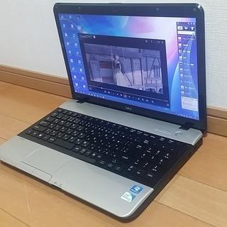 Windows10 NECノートパソコン USBマウスプレゼント...