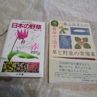 薬草関係の本が二冊