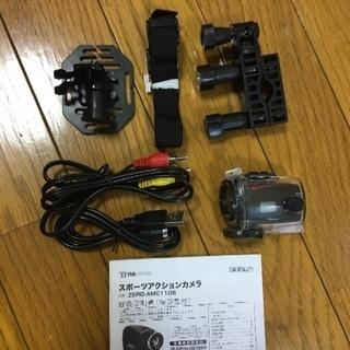スポーツアクションカメラ ZERO-AMC1108