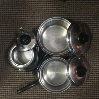ビタクラフト 鍋(大・小) やかんセット