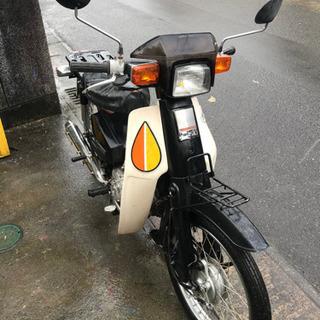 【注意・6V・セル無】スーパーカブカスタム・ベース車両