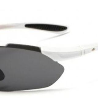 新品!未使用!スポーツサングラス 交換レンズ5枚 ケース 収納袋...