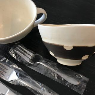 カテラリーとスープボウル