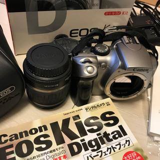 Canon Kiss digital初期モデル 全てセット