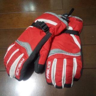 子供用スキー手袋 サイズ160 used品