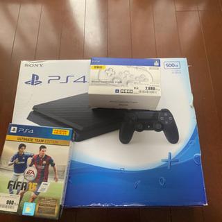 PS4とコントローラーとソフト