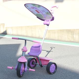 フィッシャープライス スマートトライク 三輪車 ピンクパープル