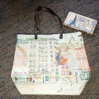 美品☆鞄と長財布のセットです