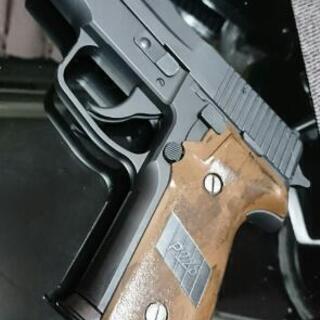 東京マルイ SIG P226 フェイクウッドグリップオリジナルブ...