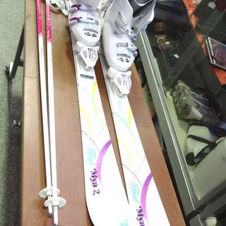 ◆スキー3点セット◆スキー:HEAD/ポール:シナノ/ブーツ:B...